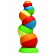 Joc de echilibru Tobbles Fat Brain Toys, 6 sfere