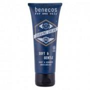 Benecos Férfi borotválkozó gél - 75ml