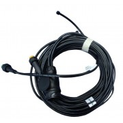 Arnés de cableado 6,5 m para luces de remolque 7 m Aspöck 13 pin