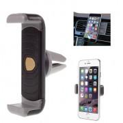Shop4 - Universele Telefoonhouder Auto Ventilatierooster Houder Grijs Zwart