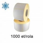 Самозалепващи се етикети ZINTA 58x43 мм 1000 ет. /ролка за фризера