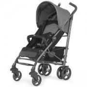 Детска лятна количка - Gear Lite Way, Coal с борд, чувалче и дъждобран, Chicco, 251206