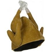 Plush Roasted Turkey Novelty Thanksgiving Hat