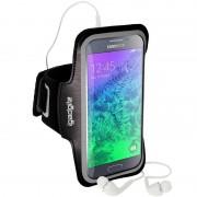 Braçadeira para Corrida iGadgitz Anti-Slip Sports para Samsung Galaxy Alpha - Preto
