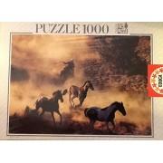 Educa 1000 Piece Puzzle ~ Wild Horses ~ Fully Interlocking 68 X 48cm