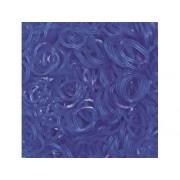 Elastice Rainbow Loom - Jelly Albastru Ocean 600 buc