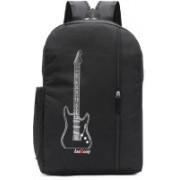LeeRooy 17 inch Laptop Backpack(Black)