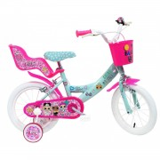 Mondo Bicicleta LOL Surprise 14 pulgadas