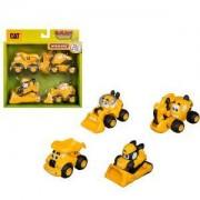 Детска играчка, Той Стейт - Комплект 4 строителни машини, 063124