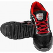 Rocks Black And Red Sports Shoe For Men