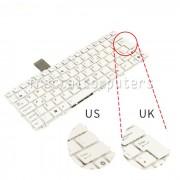 Tastatura Laptop Asus Eee Pc 1016PEB alba layout UK