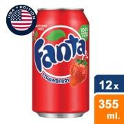 Fanta Strawberry (USA Cans) - 12 x 355ml