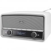 DAB+ radio NR 5 Dual, stolni radio bijela (sjajna)