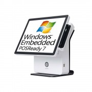 PC-POS K9000 - POS TOUCH SCREEN ALL IN ONE 15 BIANCO+ WIN POS READY 7 - K9000-POS-BPR