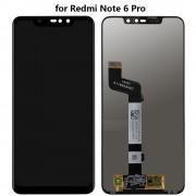 Display LCD e touch para Xiaomi Redmi Note 6 Pro preto