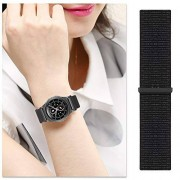 Salmue Correa de Reloj de Moda para Hombres y Mujeres, Correa de Reloj de Nylon para Reloj + Correa de Reloj Correa de Reloj Correa de Reloj Banda de Reloj con Longitud Ajustable(1#)