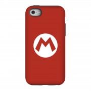 Nintendo Funda móvil Nintendo Mario Logo para iPhone y Android - iPhone 5C - Carcasa doble capa - Mate