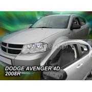 Deflektory komplet 4 ks pre DODGE Avenger , 2008-