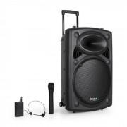 "Ibiza Port15VHF-BT 38cm (15"") PA-anläggning USB SD AUX MP3"