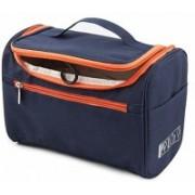 CURVE ENTERPRISE Multifunctional Travel Bag Extra Large Makeup Organiser Cosmetic Case Household Travel Toiletry Kit(Blue)