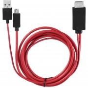 EW MHL Micro USB a cable HDMI con 11 pines para Samsung Galaxy S14 Nota14