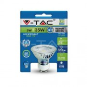 LED Spotlight - 5W GU10 Glass Cup With Lens 3000K Blister