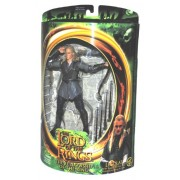 "The Lord of The Rings Year 2001 "" The Fellowship of The Ring"" Series 7 Inch Tall Action Figure - Leg"