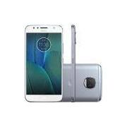 Smartphone Motorola Moto G 5s Plus Dual Chip Android 7.1.1 Nougat Tela 5.5 Snapdragon 625 32GB 4G 13MP Câmera Dupla - Azul Topázio