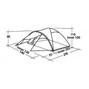 Easy Camp cort Quasar 200 - 2 persoane