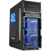 Sharkoon VG5-W Desktop Zwart computerbehuizing