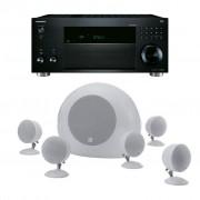 Pachet Receiver AV Onkyo TX-RZ810 + Boxe Morel SoundSpot MT-1
