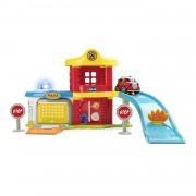 Chicco Juegos Police-fire Station Playset Multicolor