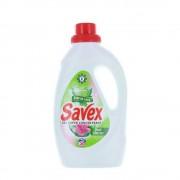 Detergent Lichid Automat de Rufe SAVEX 2 in 1 Fresh, Cantitate 1L, 20 Spalari, Parfum Fresh, Detergent Lichid pentru Rufe, Detergent Automat pentru Haine Colorate, Detergenti Lichid pentru Haine, Solutii Curatare a Hainelor