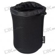 JJC JN21 Bolsa protectora resistente a la agua para bolsa para lentes de camara estandar