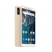 "Xiaomi Telefono movil smartphone xiaomi mi a2 gold 6.99""/ 32gb ram/ 4gb rom/ dual camera 12+20 mpx/ camara delantera 20 mpx/ 18:9 / hue"