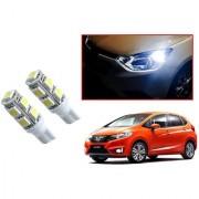 Auto Addict Car T10 9 SMD Headlight LED Bulb for Headlights Parking Light Number Plate Light Indicator Light For Honda New Jazz