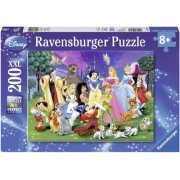 Puzzle Disney personajele preferate, 200 piese Ravensburger