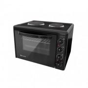 Готварска печка Eldom 203VFEN, 3100 W, чугунени плочи, 38 л., черна