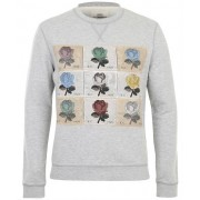 Kent & Curwen Roses patches sweater