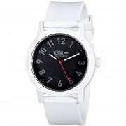 Vestal Mens ALP3P01 Alpha Bravo Plastic Analog Display Japanese Quartz White Watch