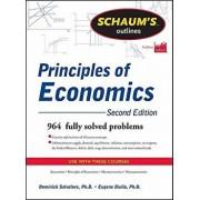 Schaum's Outlines of Principles of Economics, Paperback/Dominick Salvatore