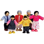 Hape-Wooden Happy Family Asian