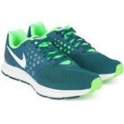 Nike Zoom Span Running Shoes For Men(Blue, Green)