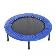 Homcom Trampolino Elastico per Fitness 32 Molle in PP, PVC Φ101.5x22.5cm