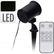 Dekoračné LED svetlo červeno-zelené s ovládačom