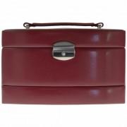 Windrose Merino Caja para joyas joyero 17 cm Rot
