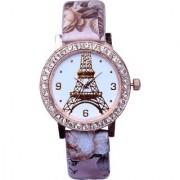 SN FASHION Analog Paris Design Pink Colour Womens Watches Ladies Watches Girls Watches Designer Watches
