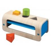 Plan Toys Sorter - skrzynka z figurami geometrycznymi,