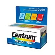 Select 50+ multivitaminico com minerais 30comp. - Centrum