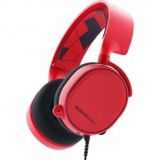 Casti SteelSeries Arctis 3 Solar Red